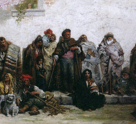 귀스타브 도레, 「부르고스의 거지」